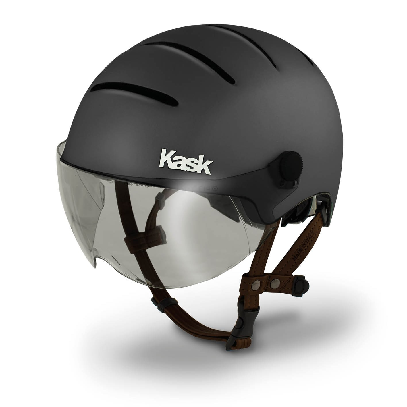 Casque Kask anthracite